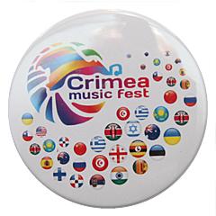 Значок Крым Фест