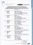 Пресс-релиз Евровидения (исполнители, песни, авторы)